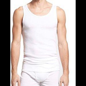Calvin Klein NWOT Cotton Classics 2-Pack Rib Tank